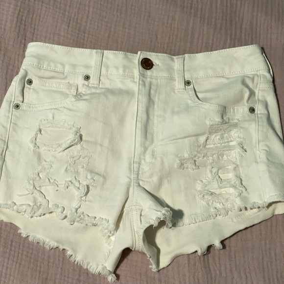 American Eagle Outfitters Pants - White shorts
